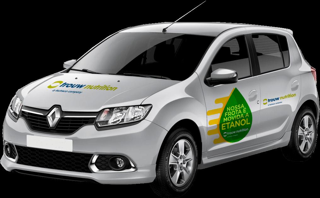 Frota da Trouw Nutrition passa a ser movida exclusivamente a etanol