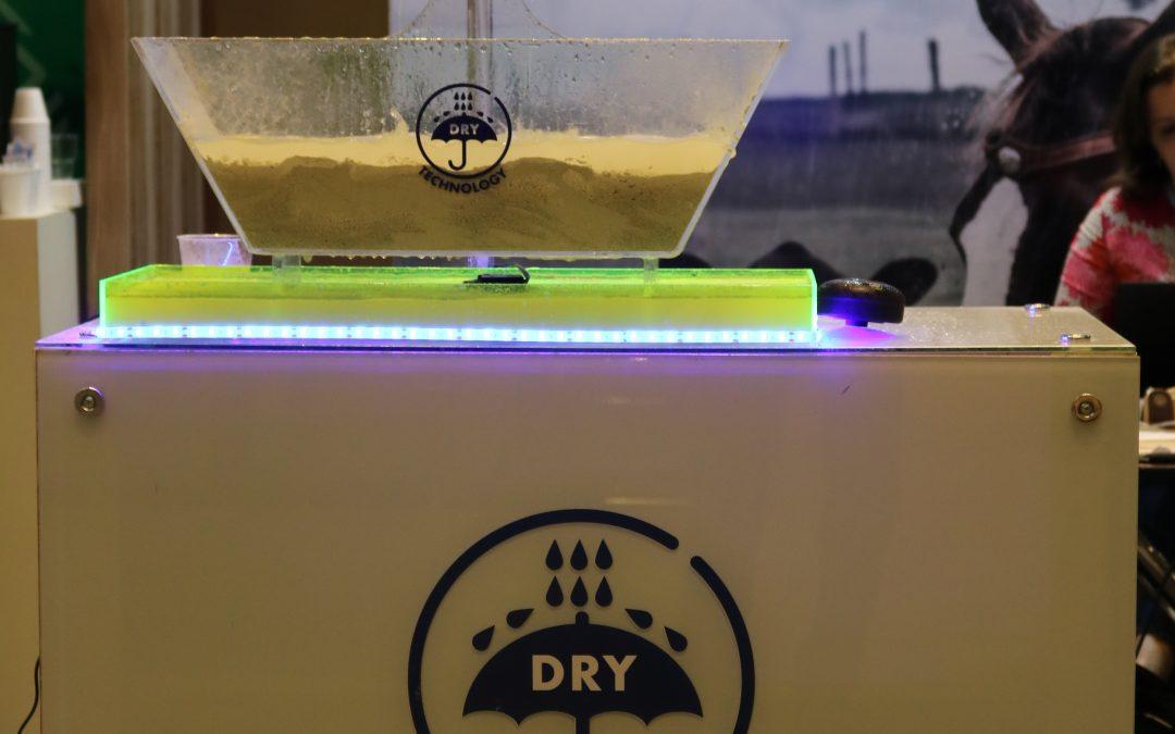 """Tecnologia """"Dry Technology"""" mantém as características dos suplementos minerais, mesmo após molhados pela chuva"""
