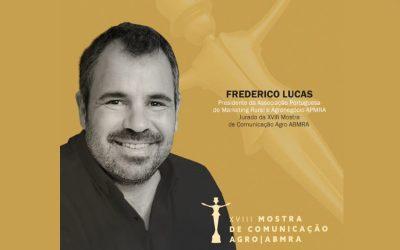 Frederico Lucas, de Portugal, também integra o júri da Mostra de Comunicação Agro ABMRA