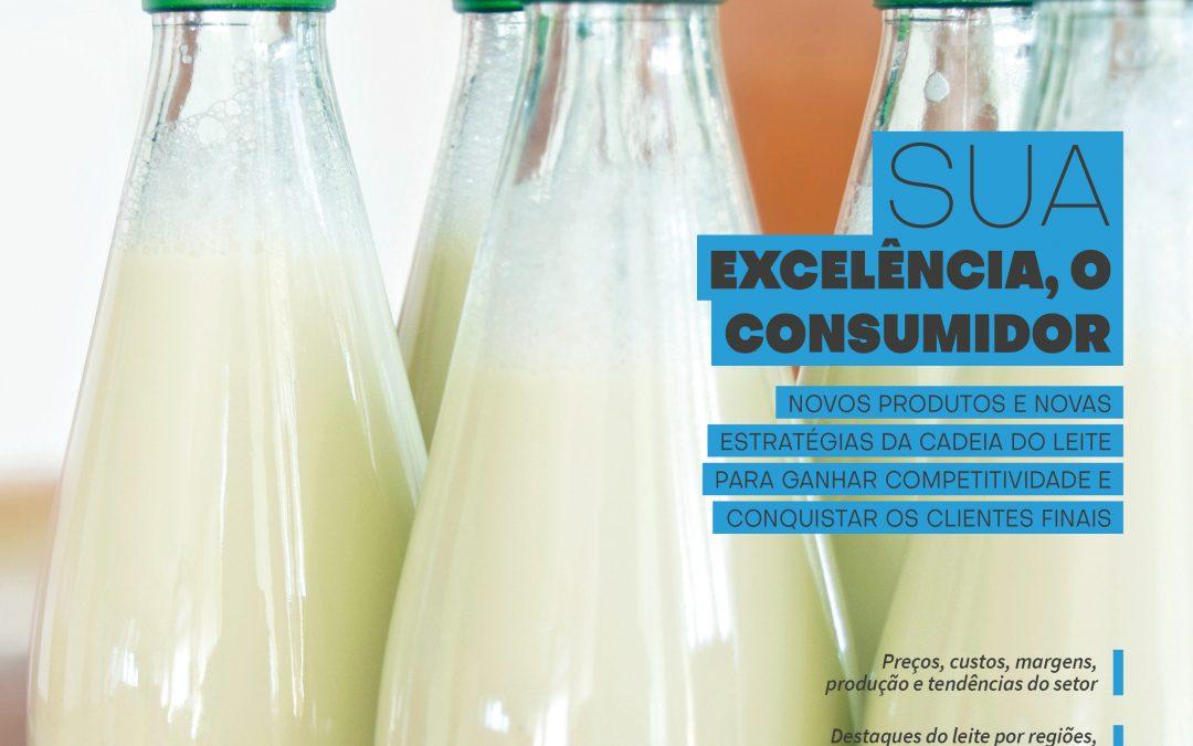 Anuário Leite 2019, da Embrapa Gado de Leite, reúne 35 artigos e análises sobre o mercado do leite no Brasil e no mundo