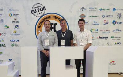 Biomin discutiu redução do uso de antimicrobianos na piscicultura no International Fish Congress, em Foz do Iguaçu