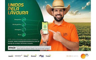 Manejo de resistência é tema de campanha da UPL para agricultores de todo o Brasil