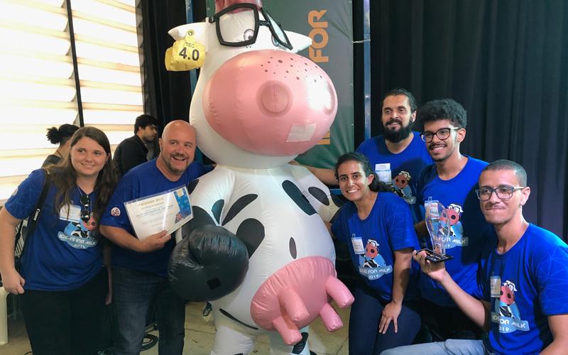 Esalq/IFSP vence Vacathon, maratona de ideias do movimento Ideas For Milk