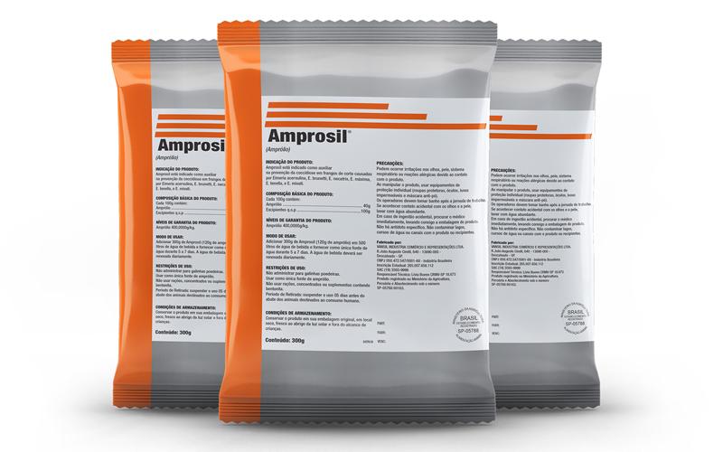 Phibro apresenta Amprosil, com nova formulação e padrão de qualidade, para combater com eficácia a coccidiose avícola