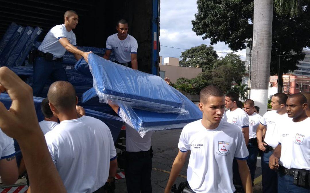 Belgo Bekaert doa colchões e camas para hospital de campanha em Minas Gerais e fornece kits de alimentação para caminhoneiros das unidades de SP, BA e MG