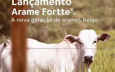 Belgo Bekaert lança Fortte, nova geração de arame farpado com alta resistência para garantir a proteção do gado
