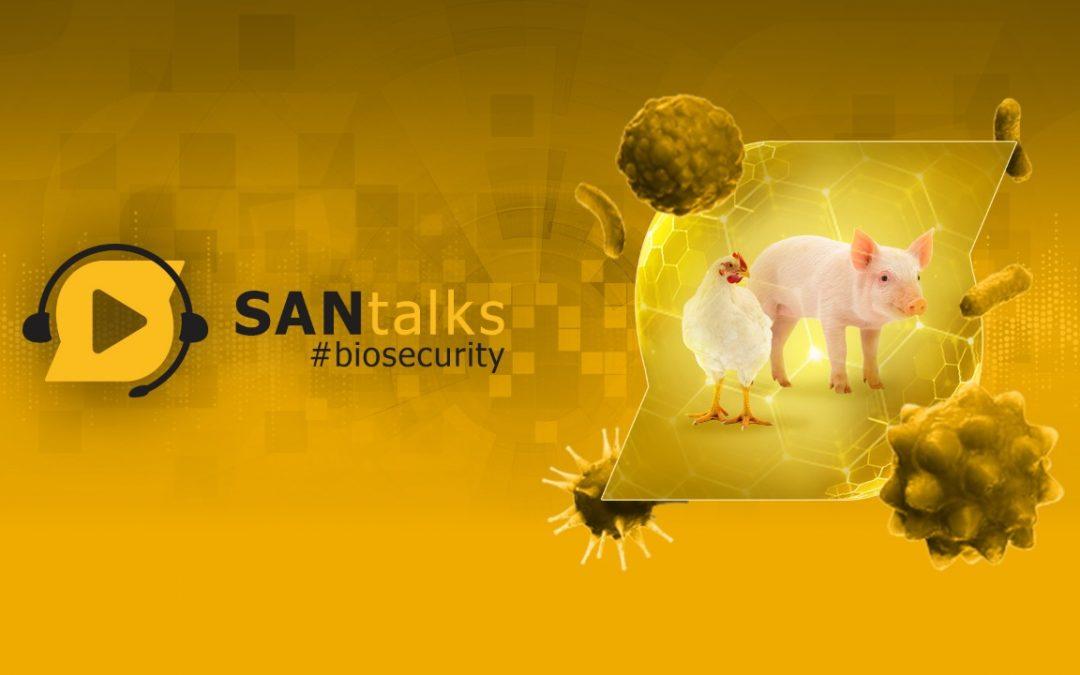 SANTalks #Biosecurity reunirá os maiores especialistas do setor