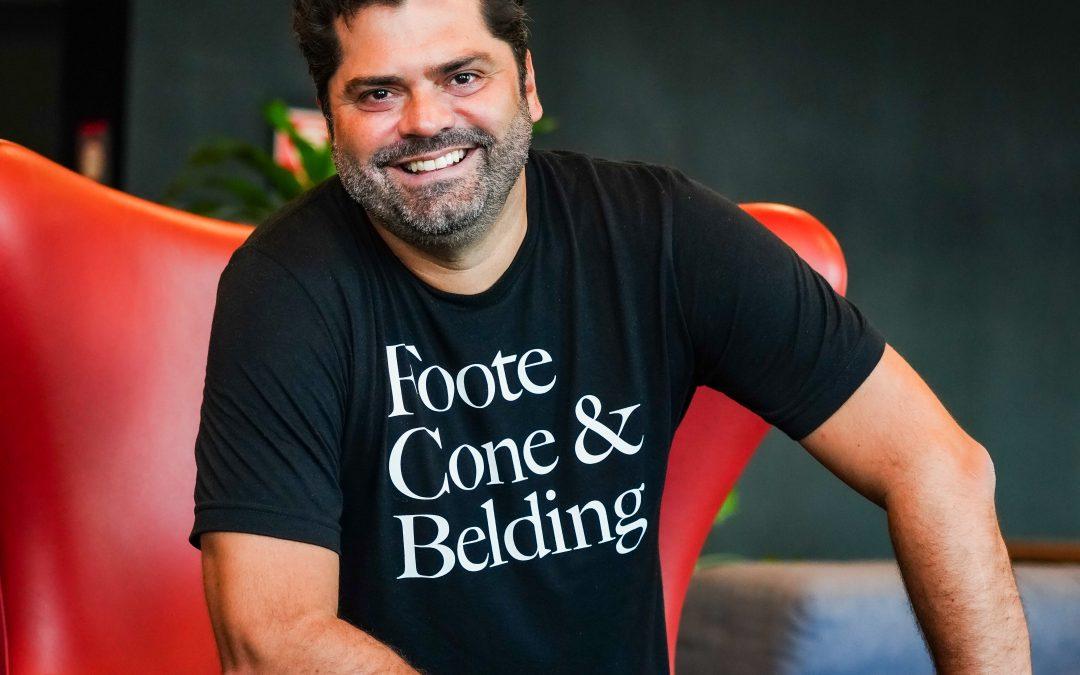Ricardo John, CEO & CCO da FCB Brasil, também integra o júri da XIX Mostra de Comunicação Agro ABMRA