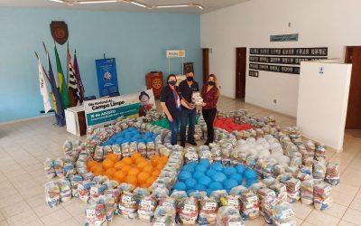 Sindiveg doa 36,9 toneladas de alimentos durante o Dia Nacional do Campo Limpo