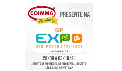 Coimma marca presença na 58ª Expo Rio Preto