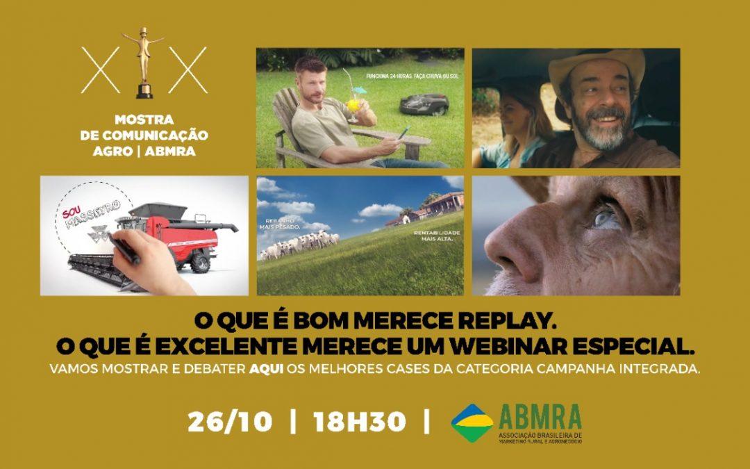 ABMRA apresenta série de lives com os vencedores da XIX Mostra de Comunicação Agro