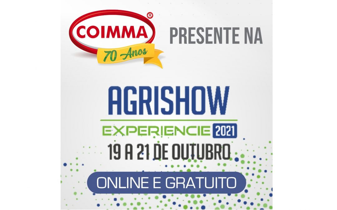 Coimma confirma participação na Agrishow Experience